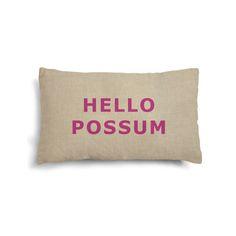 Iconic mini possum cushion