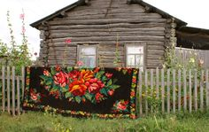 Caucasian rug, found on the border of Moldova and Russia,