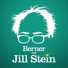 Because Bernie opened my eyes, I could NEVER vote for Hillary! #SteinBaraka2016