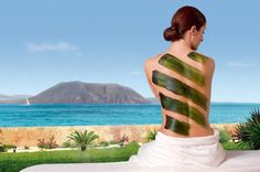 """Discover the benefits of the """"Algae detox"""" treatment in our Spa Bahía Vital."""