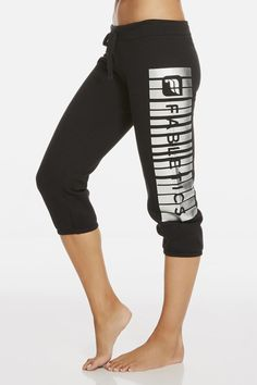 f36dd18cd66 Hamilton Sweatpant III in Black Silver Foil Print  Available on Fabletics