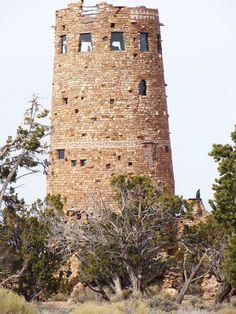 Desert View Watchtower Grand Canyon AZ
