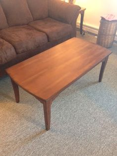 This is a nice coffee table; a great price too: $45 #owensound #consignment #homedecor #furniture #DIY #bargain