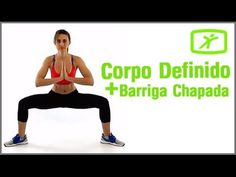 Corpo Definido e Barriga Chapada em 20 minutos - Treino para Iniciantes #2