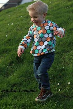 Lillestoff Sweat Dotties- Fräulein Emmama - Nähen, Nadeln, Stoffe, Schnitte