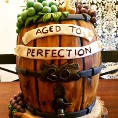 Wine Barrel Cake                                                                                                                                                                                 More