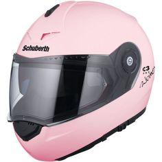 Schuberth Women's C3 Pro Modular Flip-Up Helmet - Pearl Pink - Small #Schuberth