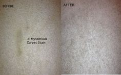 Got a set in carpet stain? These #stainhacks will change the way you look at stains forever. http://www.diyncrafts.com/6267/home/25-cleaning-hacks-will-make-life-easier