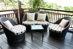 outdoor patio furniture ideas for small space