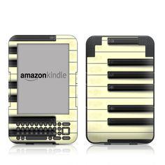 Kindle Keyboard Skin - Concerto by DecalGirl Collective | DecalGirl