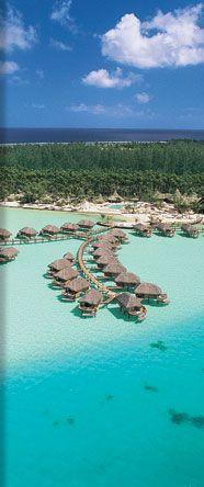 go to Tahiti (St.Regis Bora Bora Resort, Bora-Bora, Tahiti, French Polynesia) or Bora Bora, or Moorea. or ALL :D