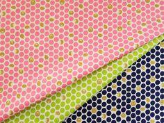 ▲綿(コットン) - 商品詳細 コットンプリント 水玉ハリネズミ 110cm巾/生地の専門店 布もよう