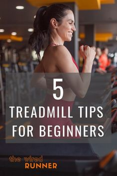 If you've just started running and the weather is bad, chances are you'll be running on a treadmill. These 5 treadmill tips for beginners will ensure that you have a safe and productive workout. Treadmill Workouts, Running On Treadmill, Running Workouts, Running Tips, Trail Running, Getting Back Into Running, Going To The Gym, Marathon Tips, Half Marathon Training