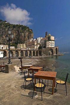 architecturia:  Atrani, Amalfi, Ital lovely art