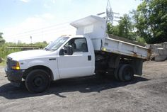 2001 Ford F-350 Contractor's Dump Truck 91K Actual Miles