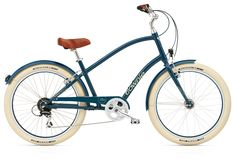 My beautiful new bike!  Electra Townie Balloon 8D EQ Men mit LED Beleuchtung Navy
