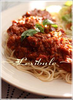 Sauce Spaghetti Au Four, Spaghetti Noodles, Marinade Sauce, Sauce Salsa, Meatloaf, Italian Recipes, Vinaigrette, Dips, Pizza