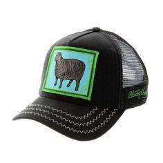 d30402cf Casquette Trucker Goorin Bros BLACK SHEEP noir #mode @goorinbros et  @hatshowroom…