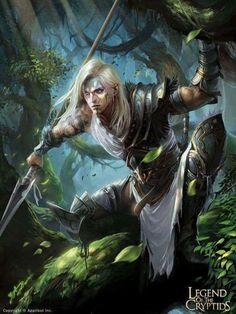 Demon hunter-reg by crow-god fantasy male, fantasy rpg, medieval fantasy Fantasy Warrior, Fantasy Male, Fantasy Rpg, Medieval Fantasy, Fantasy World, Dark Fantasy, Elf Warrior, Elves Fantasy, Fantasy Artwork