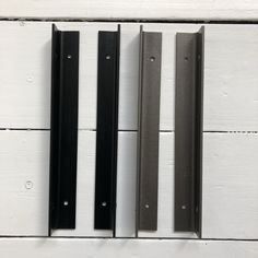 Pair of steel alcove shelf brackets perfect for any size alcove shelving. Create floating style alcove shelving with strong support and easy installation. Alcove Shelving, Rustic Shelving, Shelves, Side Wall, Family Signs, Shelf Brackets, Shelving, Rustic Shelves, Shelving Racks