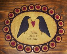 Handmade Two Olde Crows Penny