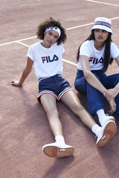 FILA + Urban Outfitters Team Up for a Tennis-Inspired Collection   Teen Vogue
