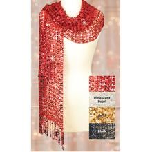 Sequined Scarf - Iridescent