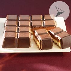 Croustifondant chocolat noir et blanc dans les moules FLEXIPAN - Recette