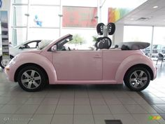 2006 New Beetle 2.5 Convertible - Custom Pink / Grey photo #1