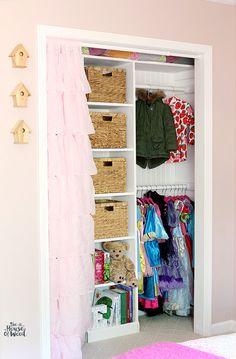 IHeart Organizing: UHeart Organizing: A Pretty in Pink Closet