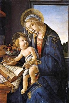 Sandro Botticelli ~ The Madonna of the Book
