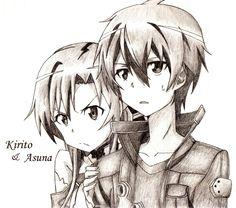 SAO KiritoxAsuna ~ Love! X3