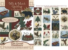 camping appliques | Anita Goodesign Mix and Match Machine Embroidery At Erica's Craft ...