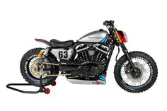 "Harley ""Martini Sportster's"" by Shaw Speed & Custom"