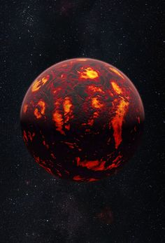 First Detection of Super-Earth Atmosphere | For the first time astronomers were able to analyse the atmosphere of an exoplanet in the class known as super-Earths. the exoplanet 55 Cancri e is revealed to have a dry atmosphere without any indications of water vapour. The atmosphere consists mainly of hydrogen and helium.