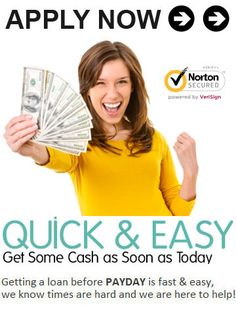 Need to access fund fast? Worried about the fact your credit history might hamper your chances to get a loan. Emergency Loans for Bad Credit can help. Instant Payday Loans, Best Payday Loans, Same Day Loans, Loans Today, Cash Today, Fast Cash Loans, Payday Loans Online, No Credit Check Loans, Loans For Bad Credit