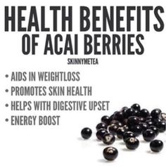 BIO E® World: Health benefits of Acai Berries Acai Benefits, Benefits Of Berries, Health Benefits, Health And Nutrition, Health Tips, Health And Wellness, Health Facts, Health Fitness, Recipes