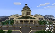 mega minecraft city | minecraft builds city hall by them4cgodfather d4n80x6 600x3651 40 ...