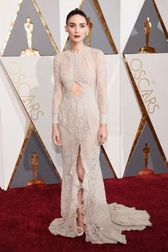 Rooney Mara in Givenchy Couture by Ricardo Tisci at the Academy Awards 2016