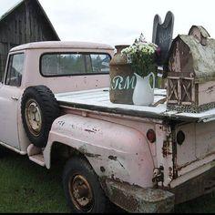 Cool Pink Junkin Truck
