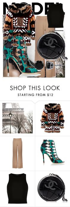"""""""Style of great colors"""" by belma-nadina ❤ liked on Polyvore featuring Dsquared2, Wallis, Aperlaï, River Island, Chanel, BERRICLE, women's clothing, women's fashion, women and female"""