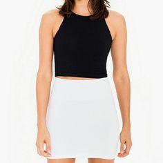💕NWT Body Central white mini skirt Very flattering and versatile! Body Central Skirts Mini