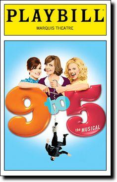 9 To The Musical (Original Broadway Cast Recording) Broadway Posters, Broadway Nyc, Broadway Plays, Broadway Theatre, Musical Theatre, Broadway Shows, Broadway Playbill, Movie Posters, Theatre Shows