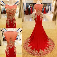 Long Formal Dresses Red, Sweetheart Formal Dress Chiffon, Scoop Neck Evening Dresses, Train Party Dresses