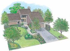 HWBDO11145 - Landscape Plan from BuilderHousePlans.com