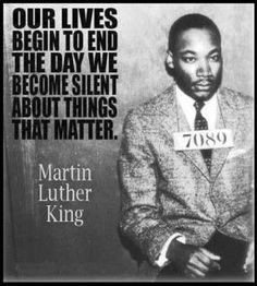 Best Inspirational Quotes About Life QUOTATION – Image : Quotes Of the day – Life Quote Our lives… Martin Luther King Jr Sharing is Caring – Keep QuotesDaily up, share this quote ! Martin Luther King, Great Quotes, Quotes To Live By, Me Quotes, Inspirational Quotes, King Quotes, Quotes On Sons, Speak Up Quotes, 2pac Quotes