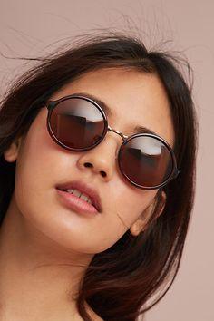 Slide View: 3: Linda Circle Sunglasses