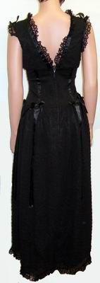 Phaze - Jasmine Long Dress - Black [LDRJA01] - £62.49 : Gothic Clothing, Gothic Boots