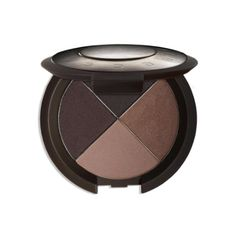 the one fall inspiration - the perfect shades of browns and neutrals - the ultimate eye color quad eyeshadow palette from becca cosmetics