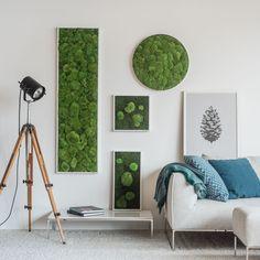 Grüne Kunst ohne Pflege #nowater #nosun #noworries #stylegreen #greenart #art #interior #interiorinspiration #moos #natürlich #nature #home
